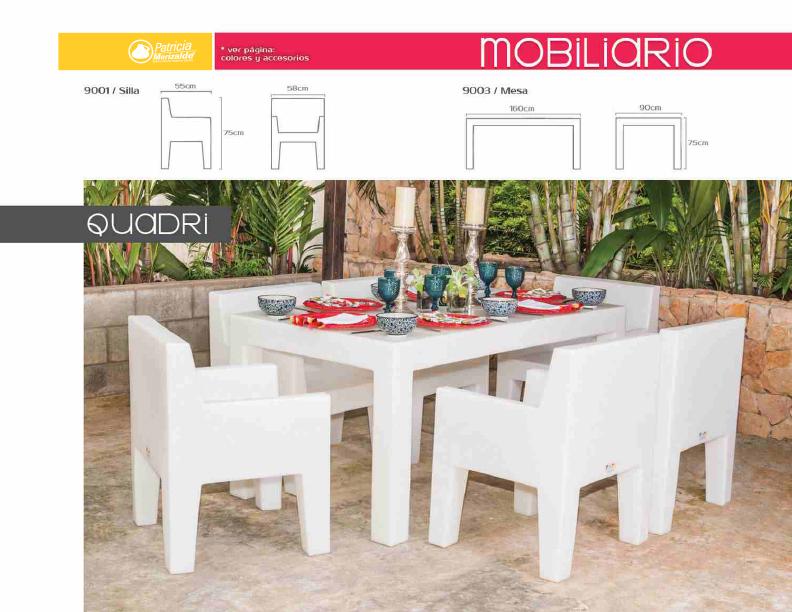 Muebles para exterior alta calidad patricia merizalde - Muebles para exteriores ...