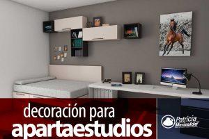 Patricia merizalde dise o y decoraci n de espacios for Decoracion apartaestudios